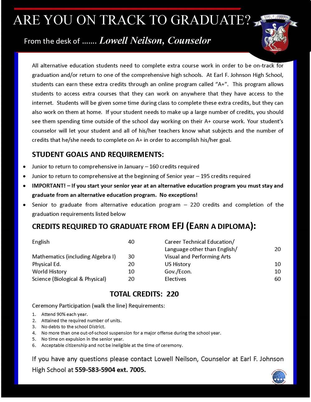 Academic Counselor Flyer