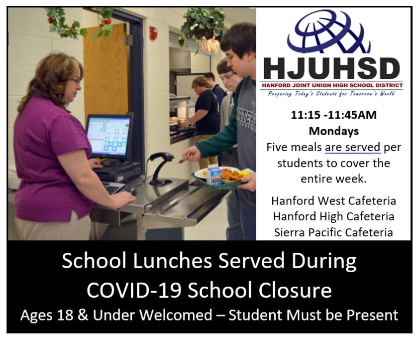 Lunch Serving hours