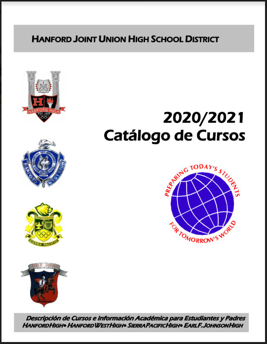 20/21 Spanish Course Catalog