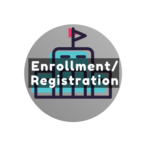 Enrollment & Registration Button