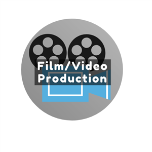 Film/Video Production Button