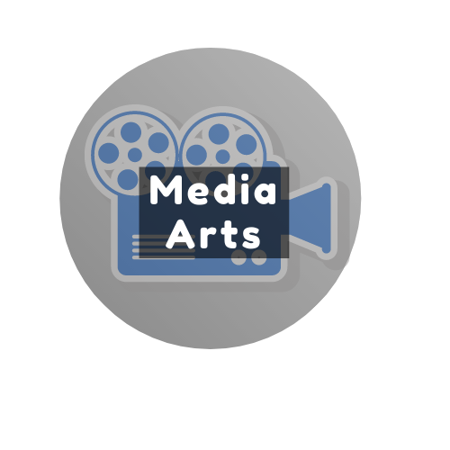 Media Arts Button