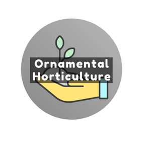 Ornamental Horticulture Button