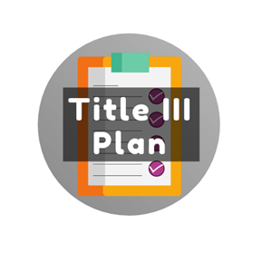 Title III Plan Button