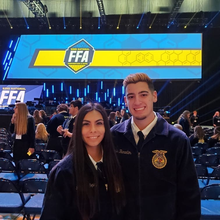 Chandler Barcellos earns National FFA Degree!