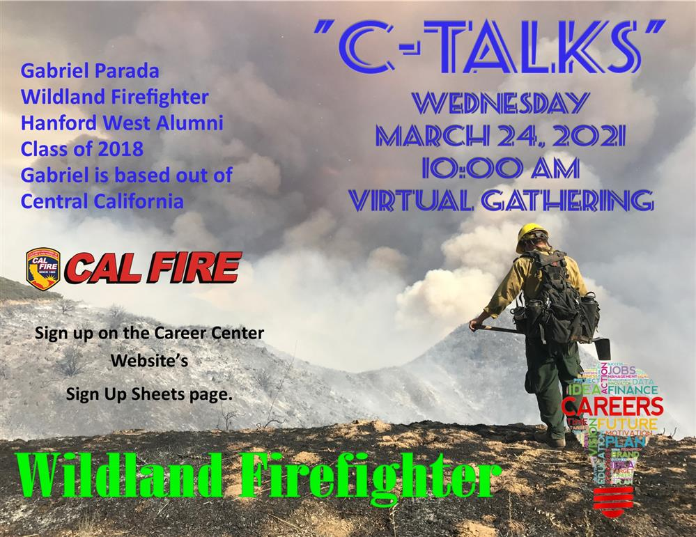 """C-Talks"" with Gabriel Parada - Wildland Firefighter"